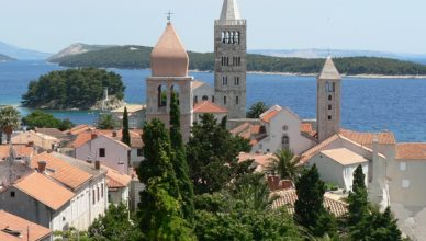 Adriatic Sea City rab Water Island Of Rab Croatia