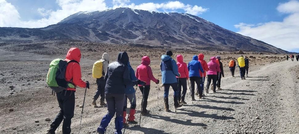 Krater Kilimanjaro