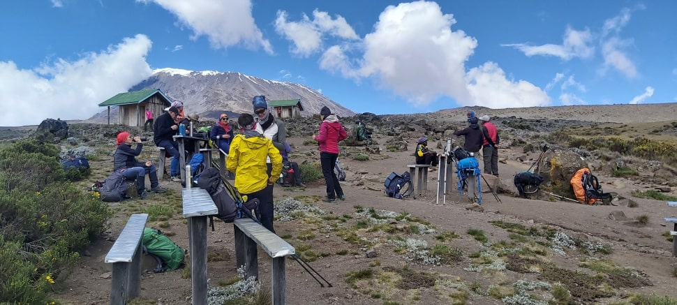 Kilimanjaro - Last Water Point
