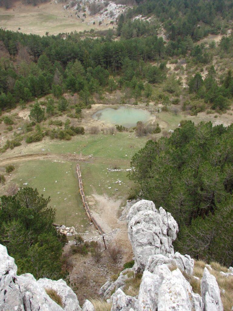 Ćićarija - pogled na Korita