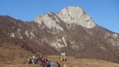 Planinarenje na Klek - prilaz s istočne strane