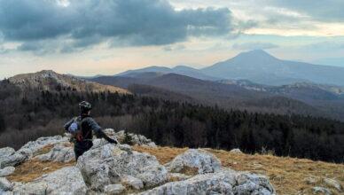 Ćićarija - najviši vrh, Veliki Planik