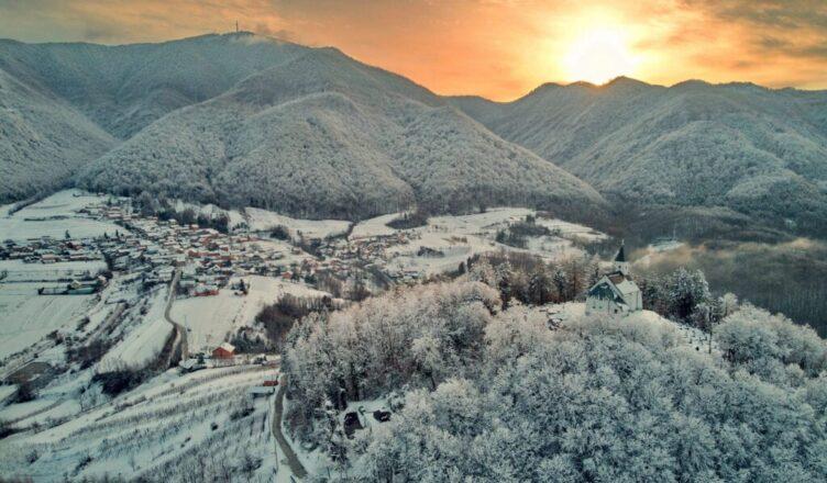 Zimska idila - Ivanščica